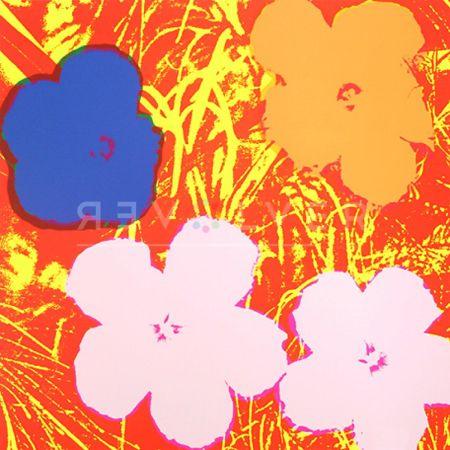 Screenprint Warhol - Flowers (Fs Ii.69)