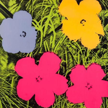 Screenprint Warhol - Flowers (FS II.73)