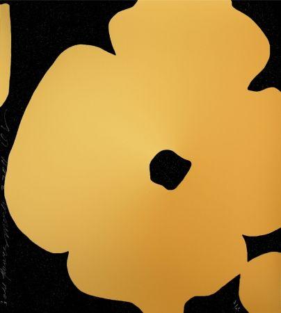 Screenprint Sultan - Flowers (GOLD)