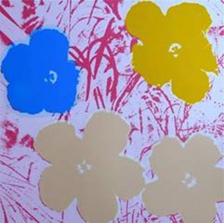 Screenprint Warhol (After) - Flowers Ii