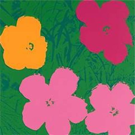 Screenprint Warhol (After) - Flowers V