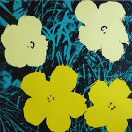Screenprint Warhol (After) - Flowers VII