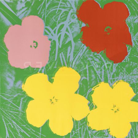 Screenprint Warhol - Flowers, Yellow (Fs Ii.65)