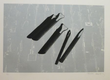 Etching And Aquatint Campeny - FLYING HANDS