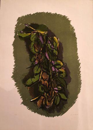 Lithograph Morlotti - Foglie