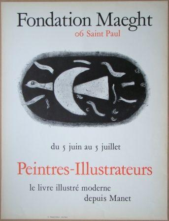 Lithograph Braque - Fondation Maeght