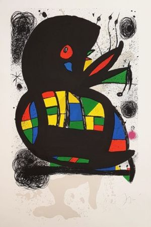 Lithograph Miró - Fondation Maeght