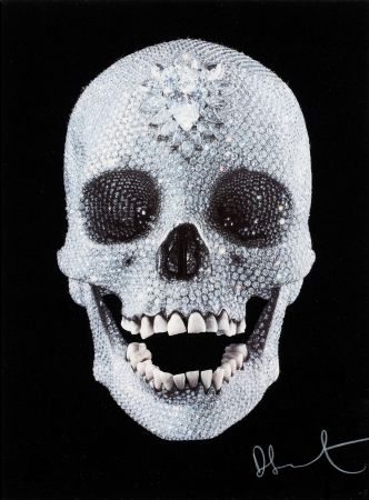 Screenprint Hirst - For the Love of God