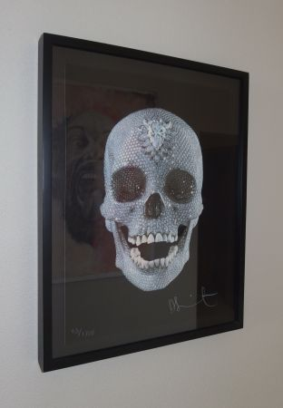 Screenprint Hirst - For The Love Of God, Believe