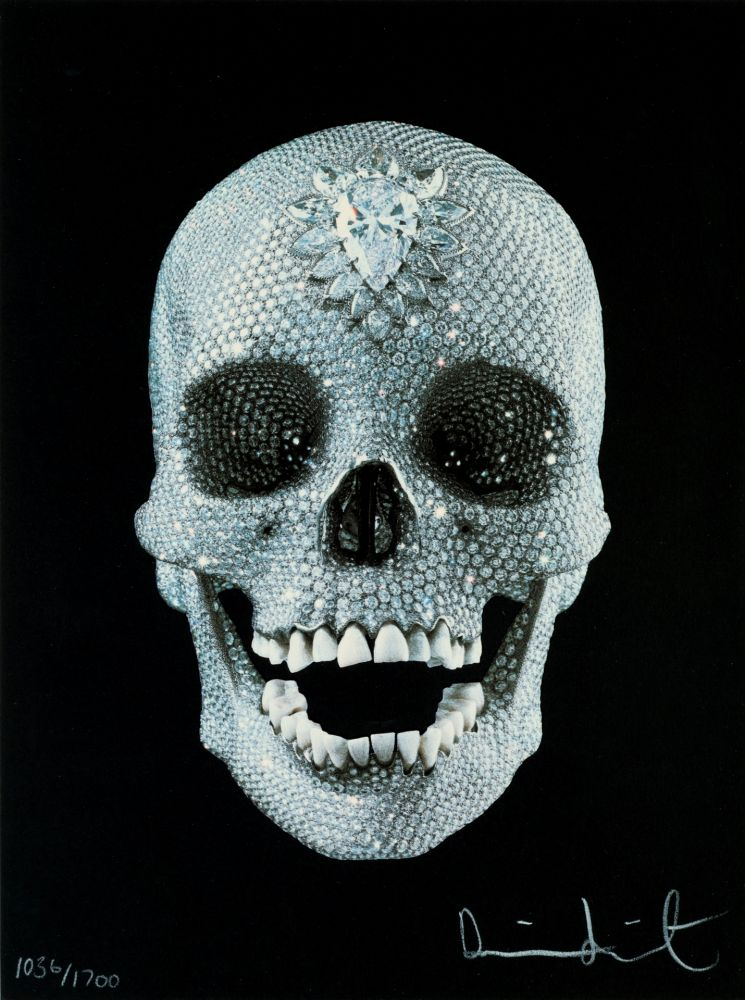 Screenprint Hirst - FOR THE LOVE OF GOD,BELIEVE