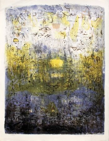 Lithograph Zao - Foret Perdue (Lost Forest)