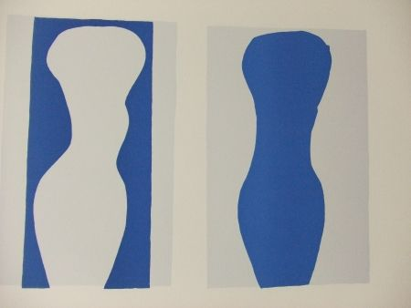 Lithograph Matisse - Formes