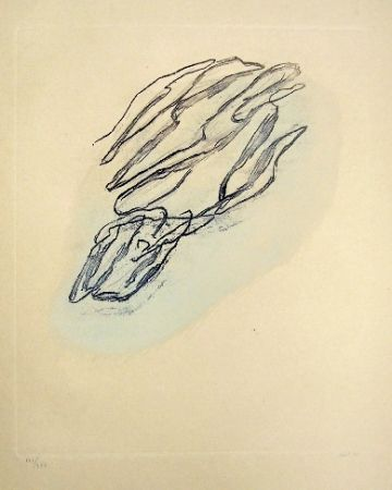 Engraving Fautrier - Formes végétales