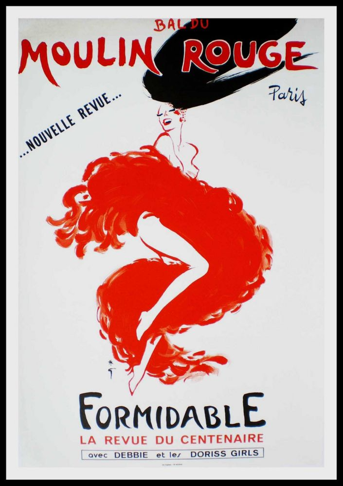 Poster Gruau - FORMIDABLE
