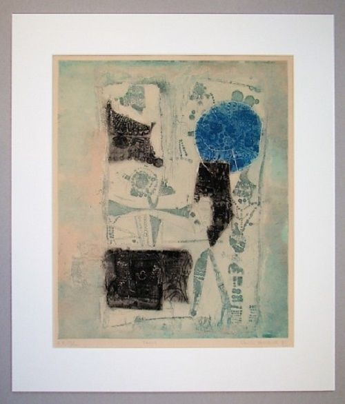 Etching And Aquatint Hasegawa - Fossile