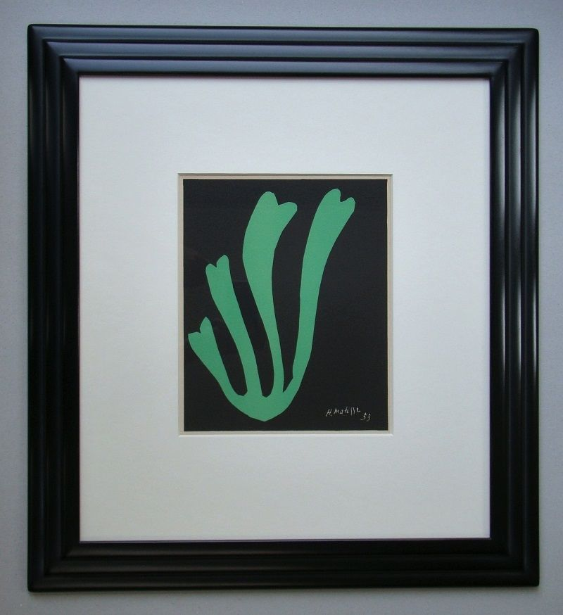 Lithograph Matisse - Fougère - 1953