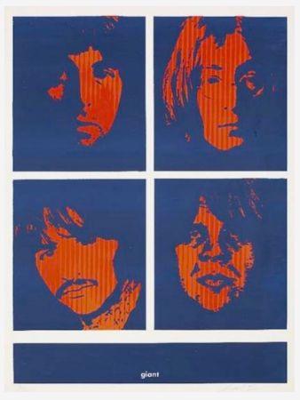 Screenprint Fairey - Four Giant Beatles