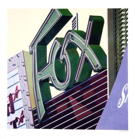 Screenprint Cottingham - Fox