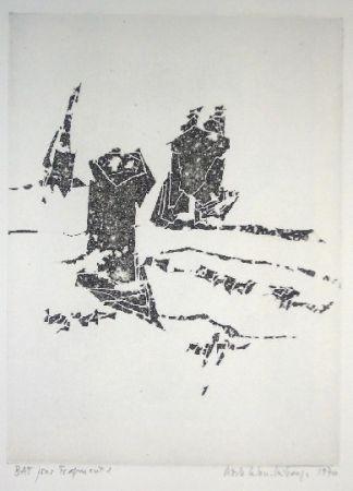 Etching Celan Lestrange - Fragment - pl 2