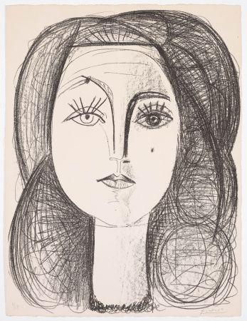 Lithograph Picasso - Françoise 1946