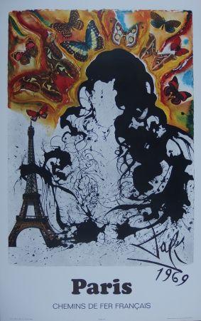 Etching Dali - France : Paris (Sncf)