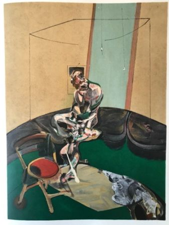 Lithograph Bacon - Francis Bacon - George Dyer - De Luxe Limited Edition Lithograph