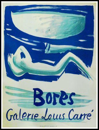 Poster Bores - FRANCISCO BORES - GALERIE LOUIS CARRÉ