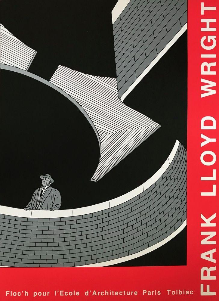 Screenprint Floch' - Franck LLoyd Wright