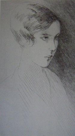 Engraving Marcoussis - Francoise Pomey