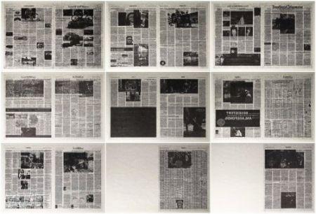 Lithograph Kassay - Frankfurter Allgemeine