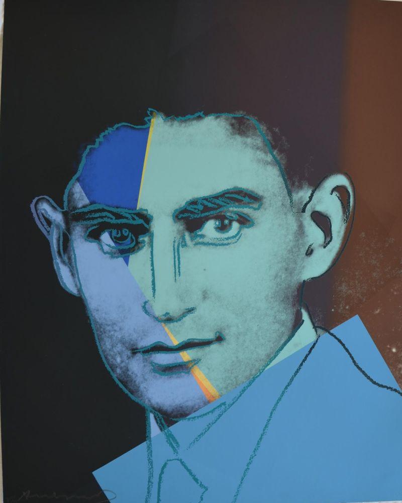 Screenprint Warhol - Franz Kafka TP