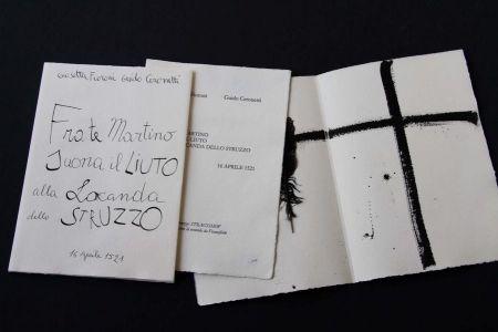Illustrated Book Fioroni - Frate Martino suona il liuto alla locanda dello struzzo