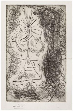 Engraving Miró -