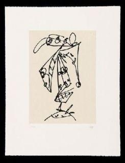 Etching And Aquatint Saura - Frauen Portrait mit Hut 1