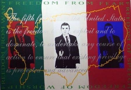 Screenprint Martinez - Freedom  from Fear