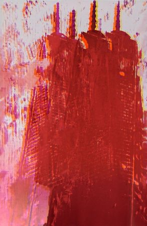 Lithograph Perez - Freedom Tower 3