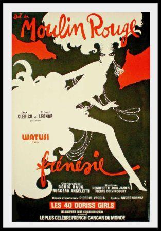 Poster Gruau - FRENESIE
