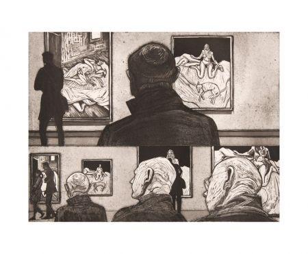 Etching And Aquatint Collin - Freud I