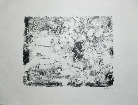 Lithograph Jorn - From