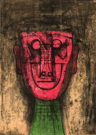 Lithograph Tamayo - From: Los Signos Existen