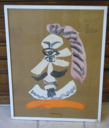Lithograph Picasso - From portraits imaginaires