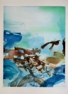 Etching And Aquatint Zao - From