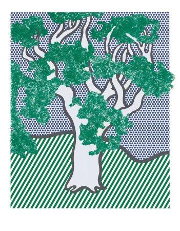 Screenprint Lichtenstein - From the Portfolio Columbus