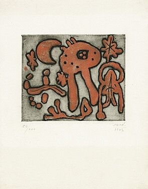 Etching And Aquatint Miró - From