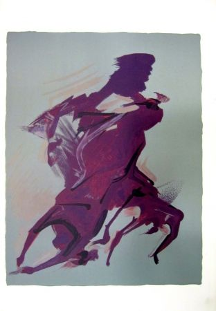 Lithograph Siqueiros - From the Prison Fantasy Series