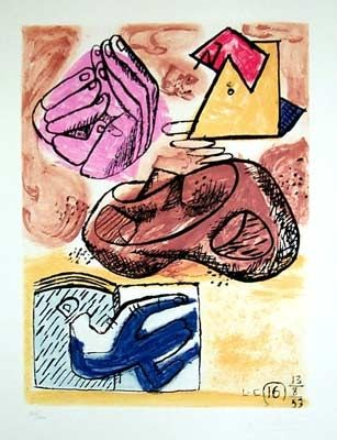 Etching And Aquatint Le Corbusier - From Unite Suite #16
