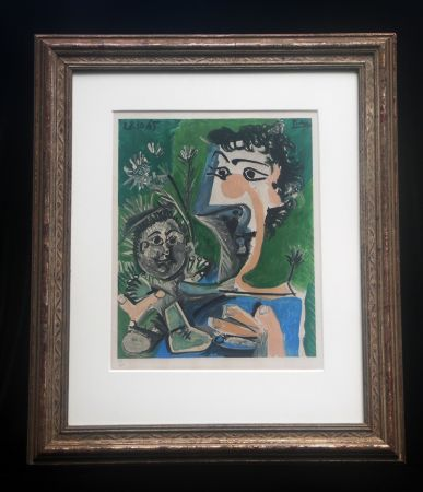 Lithograph Picasso (After) - Fronciuse and Cloude