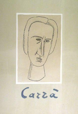 Lithograph Carra - Frontespizio