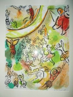 Lithograph Chagall - Frontispiece