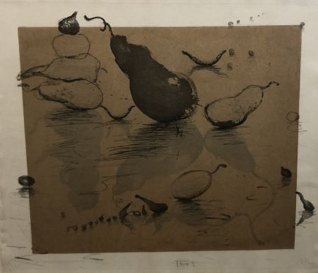 Etching And Aquatint Barcelo - Fruits